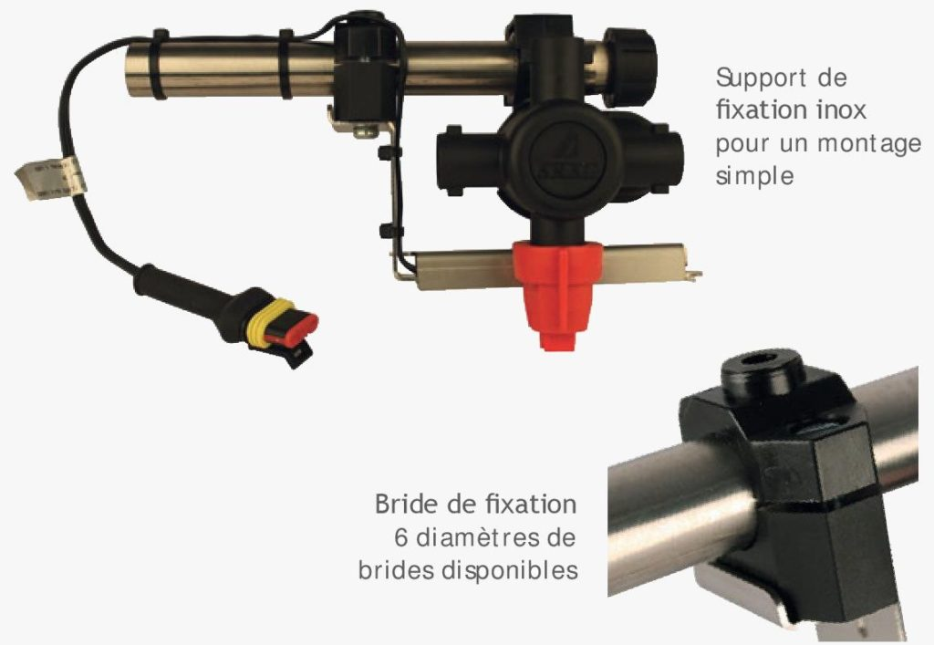Fixation Spray Led System
