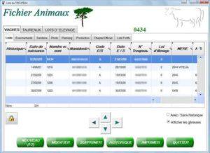 Fichier Animaux Gestilac